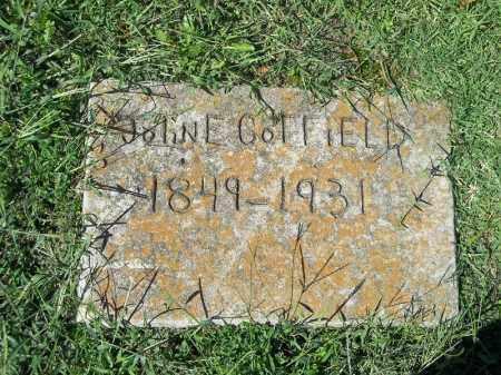 COFFIELD, JOHN E - Delaware County, Oklahoma | JOHN E COFFIELD - Oklahoma Gravestone Photos
