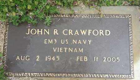 CRAWFORD, JOHN R - Delaware County, Oklahoma   JOHN R CRAWFORD - Oklahoma Gravestone Photos