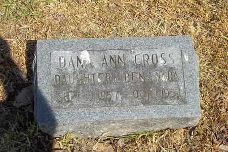 CROSS, DANA ANN - Delaware County, Oklahoma   DANA ANN CROSS - Oklahoma Gravestone Photos