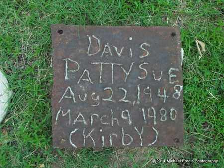 KIRBY DAVIS, PATTY SUE - Delaware County, Oklahoma | PATTY SUE KIRBY DAVIS - Oklahoma Gravestone Photos