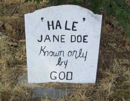 DOE, JANE - Delaware County, Oklahoma | JANE DOE - Oklahoma Gravestone Photos