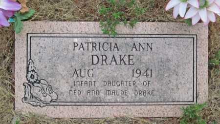 DRAKE, PATRICIA ANN - Delaware County, Oklahoma   PATRICIA ANN DRAKE - Oklahoma Gravestone Photos