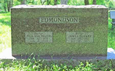 EDMONDSON, JAMES TURNER - Delaware County, Oklahoma | JAMES TURNER EDMONDSON - Oklahoma Gravestone Photos