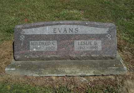 EVANS, LESLIE B - Delaware County, Oklahoma | LESLIE B EVANS - Oklahoma Gravestone Photos