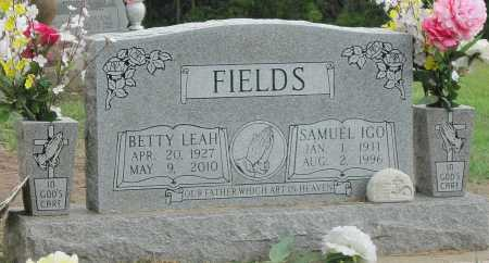 FIELDS, SAMUEL IGO - Delaware County, Oklahoma | SAMUEL IGO FIELDS - Oklahoma Gravestone Photos