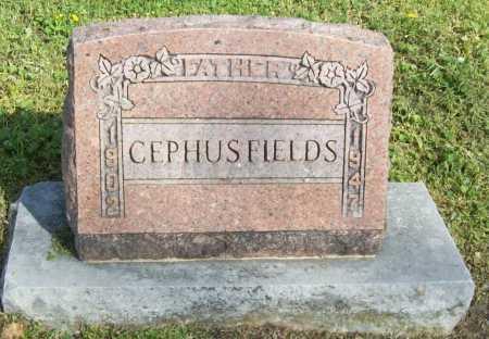 FIELDS, CEPHUS - Delaware County, Oklahoma   CEPHUS FIELDS - Oklahoma Gravestone Photos