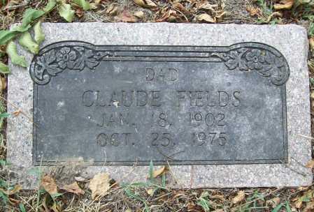 FIELDS, CLAUDE - Delaware County, Oklahoma | CLAUDE FIELDS - Oklahoma Gravestone Photos