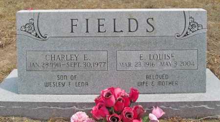 FIELDS, E LOUISE - Delaware County, Oklahoma | E LOUISE FIELDS - Oklahoma Gravestone Photos