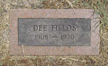 FIELDS, DEE - Delaware County, Oklahoma | DEE FIELDS - Oklahoma Gravestone Photos
