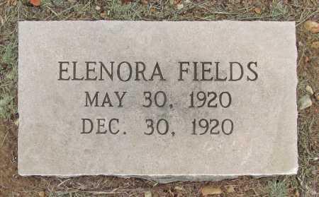 FIELDS, ELENORA - Delaware County, Oklahoma | ELENORA FIELDS - Oklahoma Gravestone Photos