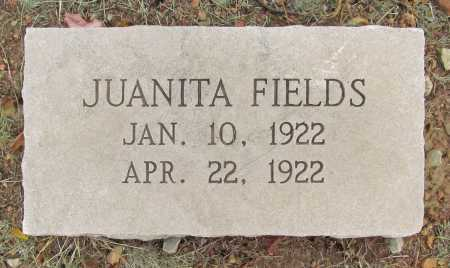 FIELDS, JUANITA - Delaware County, Oklahoma | JUANITA FIELDS - Oklahoma Gravestone Photos