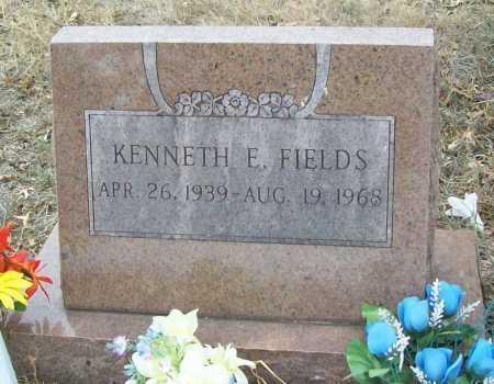 FIELDS, KENNETH E. - Delaware County, Oklahoma | KENNETH E. FIELDS - Oklahoma Gravestone Photos