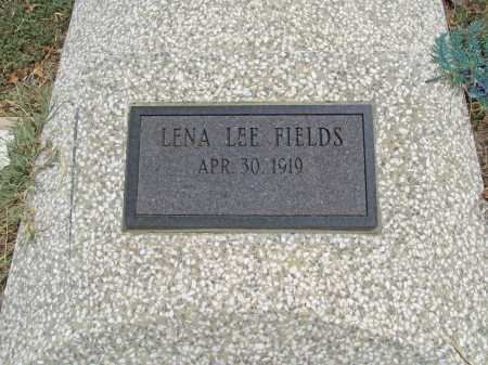 FIELDS, LENA LEE - Delaware County, Oklahoma | LENA LEE FIELDS - Oklahoma Gravestone Photos