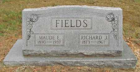 FIELDS, MAUDE E - Delaware County, Oklahoma | MAUDE E FIELDS - Oklahoma Gravestone Photos