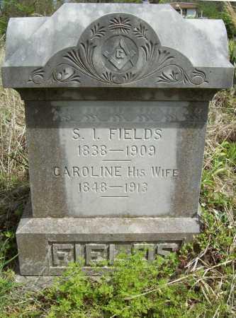PHILLIPS FIELDS, CAROLINE BELVEDERE - Delaware County, Oklahoma | CAROLINE BELVEDERE PHILLIPS FIELDS - Oklahoma Gravestone Photos