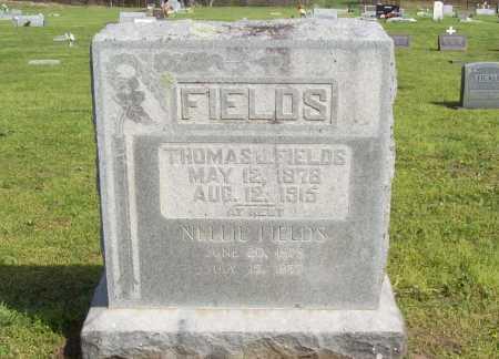 FIELDS, NELLIE - Delaware County, Oklahoma   NELLIE FIELDS - Oklahoma Gravestone Photos