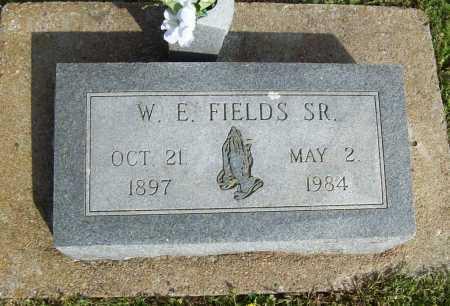 FIELDS, WILLIAM EDGAR, SR. - Delaware County, Oklahoma   WILLIAM EDGAR, SR. FIELDS - Oklahoma Gravestone Photos