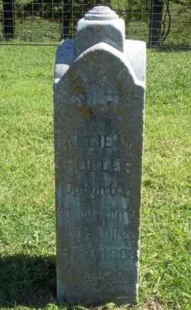 FULLER, ALLIE - Delaware County, Oklahoma   ALLIE FULLER - Oklahoma Gravestone Photos
