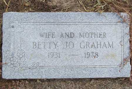 GRAHAM, BETTY JO - Delaware County, Oklahoma | BETTY JO GRAHAM - Oklahoma Gravestone Photos