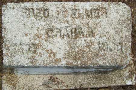 GRAHAM, FRED ELMER - Delaware County, Oklahoma | FRED ELMER GRAHAM - Oklahoma Gravestone Photos