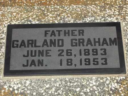 GRAHAM, GARLAND - Delaware County, Oklahoma | GARLAND GRAHAM - Oklahoma Gravestone Photos