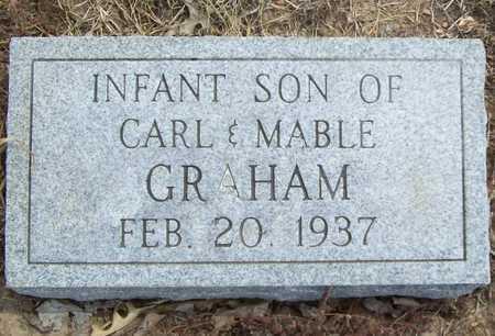 GRAHAM, INFANT SON - Delaware County, Oklahoma   INFANT SON GRAHAM - Oklahoma Gravestone Photos