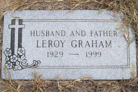 GRAHAM, LEROY - Delaware County, Oklahoma   LEROY GRAHAM - Oklahoma Gravestone Photos