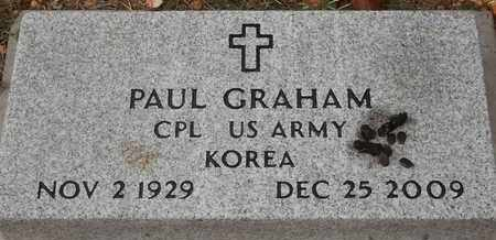 GRAHAM, PAUL - Delaware County, Oklahoma   PAUL GRAHAM - Oklahoma Gravestone Photos