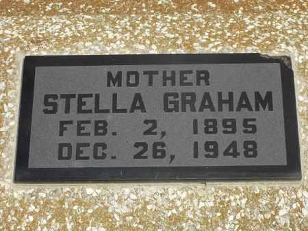 GRAHAM, STELLA - Delaware County, Oklahoma | STELLA GRAHAM - Oklahoma Gravestone Photos