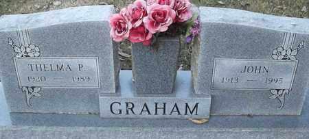 GRAHAM, THELMA P - Delaware County, Oklahoma | THELMA P GRAHAM - Oklahoma Gravestone Photos
