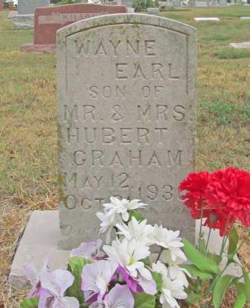 GRAHAM, WAYNE EARL - Delaware County, Oklahoma   WAYNE EARL GRAHAM - Oklahoma Gravestone Photos