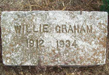 GRAHAM, WILLIE - Delaware County, Oklahoma   WILLIE GRAHAM - Oklahoma Gravestone Photos