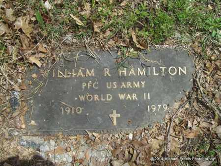 HAMITLON (VETERAN WWII), WILLIAM R. - Delaware County, Oklahoma | WILLIAM R. HAMITLON (VETERAN WWII) - Oklahoma Gravestone Photos