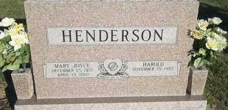 HENDERSON, MARY JOYCE - Delaware County, Oklahoma | MARY JOYCE HENDERSON - Oklahoma Gravestone Photos