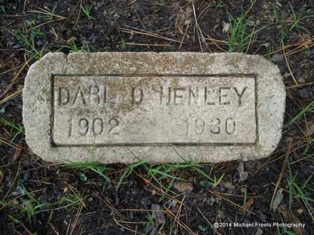 HENLEY, DARL D. - Delaware County, Oklahoma   DARL D. HENLEY - Oklahoma Gravestone Photos