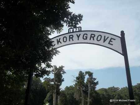 *HICKORY GROVE CEMETERY SIGN, . - Delaware County, Oklahoma   . *HICKORY GROVE CEMETERY SIGN - Oklahoma Gravestone Photos