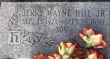 HILL, JR, JERRY WAYNE - Delaware County, Oklahoma | JERRY WAYNE HILL, JR - Oklahoma Gravestone Photos