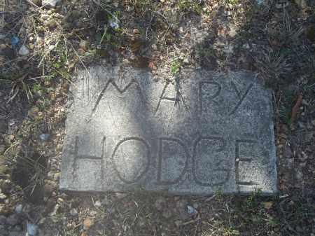 HODGE, MARY - Delaware County, Oklahoma | MARY HODGE - Oklahoma Gravestone Photos