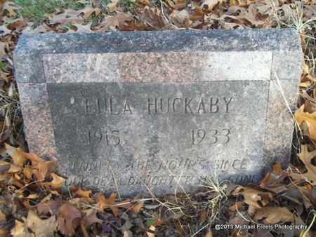 HUCKABY, EULA - Delaware County, Oklahoma | EULA HUCKABY - Oklahoma Gravestone Photos