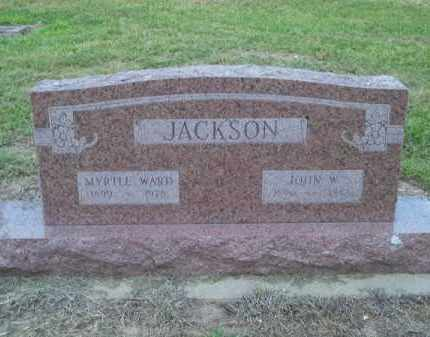 JACKSON, JOHN W - Delaware County, Oklahoma | JOHN W JACKSON - Oklahoma Gravestone Photos