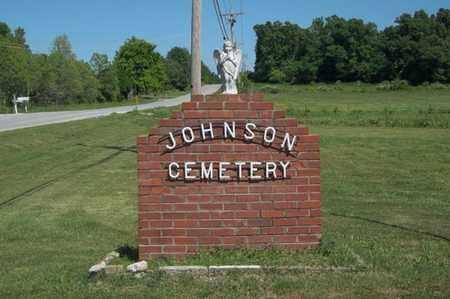 *JOHNSON CEMETERY SIGN, . - Delaware County, Oklahoma   . *JOHNSON CEMETERY SIGN - Oklahoma Gravestone Photos