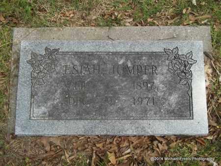 JUMPER, ESIAH - Delaware County, Oklahoma | ESIAH JUMPER - Oklahoma Gravestone Photos