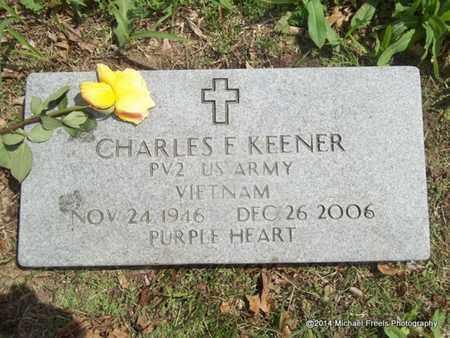 KEENER (VETERAN VIET), CHARLES F. - Delaware County, Oklahoma | CHARLES F. KEENER (VETERAN VIET) - Oklahoma Gravestone Photos