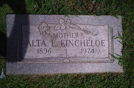 DANIELS KINCHELOE, ALTA LUELLA - Delaware County, Oklahoma | ALTA LUELLA DANIELS KINCHELOE - Oklahoma Gravestone Photos