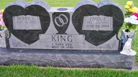 KING, FADA - Delaware County, Oklahoma | FADA KING - Oklahoma Gravestone Photos
