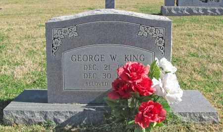 KING, GEORGE W - Delaware County, Oklahoma | GEORGE W KING - Oklahoma Gravestone Photos