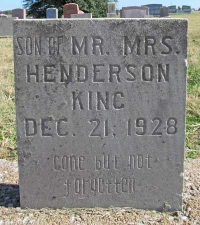 KING, SON - Delaware County, Oklahoma | SON KING - Oklahoma Gravestone Photos