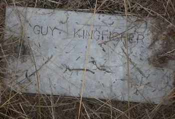 KINGFISHER, GUY - Delaware County, Oklahoma   GUY KINGFISHER - Oklahoma Gravestone Photos