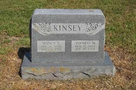KINSEY, THOMAS M - Delaware County, Oklahoma   THOMAS M KINSEY - Oklahoma Gravestone Photos