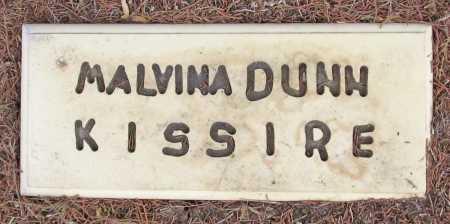 KISSIRE, MALVINA DUNN - Delaware County, Oklahoma | MALVINA DUNN KISSIRE - Oklahoma Gravestone Photos